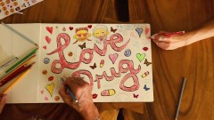 LOVE DRUG (Lyric video) - Die Antwoord