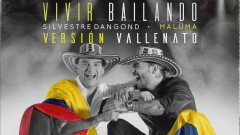 Vivir Bailando (Vallenato Version - Audio) - Silvestre Dangond, Maluma