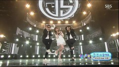 Tell Me One More Time (0503 SBS Inkigayo) - Jinusean, Hi Suhyun
