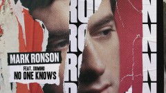 No One Knows (Official Audio) - Mark Ronson, Domino