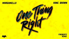 One Thing Right (Firebeatz Remix [Audio]) - Marshmello, Kane Brown