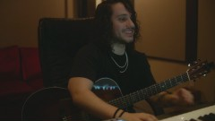 Making The Acoustic Version of Missin You Crazy In Studio - Russ