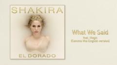 What We Said ((Comme moi English Version)[Audio]) - Shakira, MAGIC!