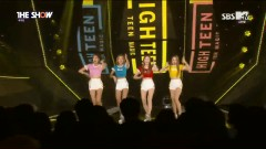 BOOM BOOM CLAP (161011 The Show) - High Teen