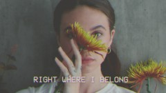 Where I Belong (Lyric Video) - Glowie