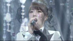 We Were In Love (120108 Inkigayo) - T-ARA, Davichi