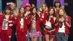 Interview (130106 Inkigayo) - SNSD