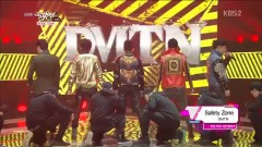 Safety Zone (130201 Music Bank) - Dalmatian, DMTN