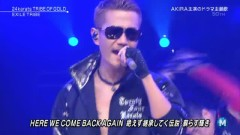 24karats TRIBE OF GOLD (Music Station) - EXILE