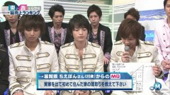 Talk + Kisu Umai Kiss Your Mind (Music Station 2013.03.29)