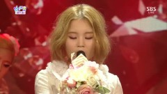 Rose (130714 Inkigayo Half Year Special) - LEE HI