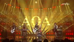 Moya (130811 Inkigayo) - AOA Black
