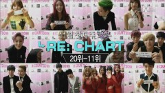 Opening + Re Chart + Greeting + Number 9 (131107 M! Countdown) - T-ARA