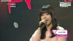 Love Falls (131213 Music Bank) - JUNIEL, Lee Jong Hyun