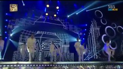 The Ghost Of Wind, Bounce, Glue (131229 SBS Gayo Daejun) - ZE:A, Nine Muses