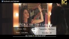 You Don't Love Me (Vietsub) - Spica