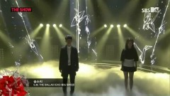 Breath (Chinese Ver.) (140225 SBS The Show All About K-pop) - Jang Ri In, CHEN