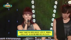 Goodbye My Love (140709 Show Champion) - Kim Wan Sun