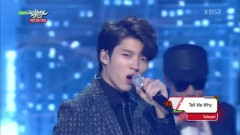 Tell Me Why (141219 Music Bank) - Toheart (WooHyun & Key)