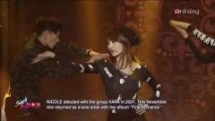MAMA & TALK (141219 Music Bank) - Nicole (KARA)