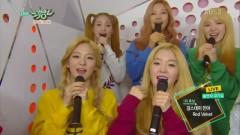 Backstage Interview (150327 Music Bank) - Red Velvet, Minah