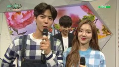 Backstage Interview (150612 Music Bank)