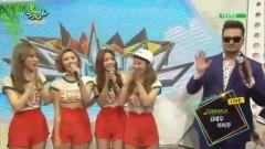 Interview (150619 Music Bank) - Mamamoo, Kim Tae Woo