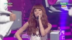 #LoveMe (150703 Music Bank) - Melody Day