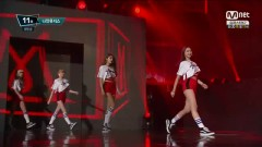 Hurt Locker (150723 M! Countdown) - Nine Muses
