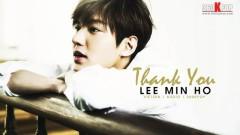 Thank You (Vietsub) - Lee Min Ho