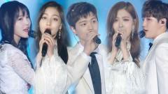 Butterfly (2017 SBS Gayo Daejun) - Jihyo, Yook Sung Jae, Rose, Kim Jae Hwan, Yuju
