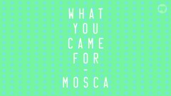 What You Came For - Mosca, Katy B