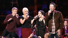 In the Midnight Hour (The Voice 2015) - Blake Shelton, Meghan Linsey, Corey Kent White, Hannah Kirby