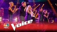 Stand (The Voice 2015) - Barrett Baber, Emily Ann Roberts, Ivonne Acero, Morgan Frazier, Nadjah Nicole, Zach Seabaugh