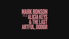 Truth (Audio) - Mark Ronson, Alicia Keys, The Last Artful,  Dodgr