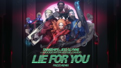 Lie for You (Frizzo Remix) [Visualiser] - Snakehips, Jess Glynne, A Boogie Wit Da Hoodie, Davido