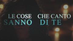 Le cose che canto (Lyrics Video) - Giusy Ferreri