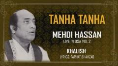 Tanha Tanha (Live) (Pseudo Video) - Mehdi Hassan