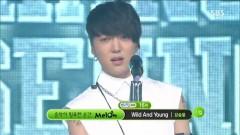 Wild And Young (130811 Inkigayo) - Kang Seung Yoon