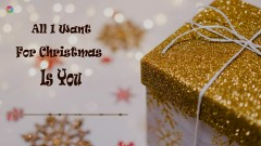 All I Want For Christmas Is You - 12 Girls Band