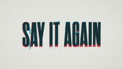 Say It Again (Lyric Video) - AJ Mitchell