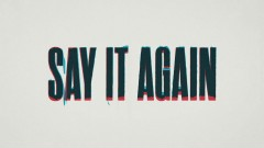 Say It Again (Lyric Video) - AJ Mitchell
