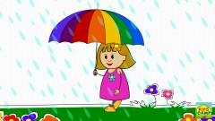 Rain, Rain, Go Away (Nursery Rhymes) - KidsCamp
