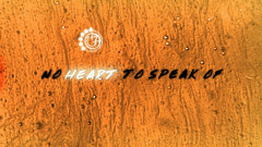 No Heart To Speak Of (Lyric Video) - blink-182