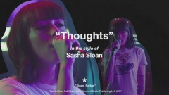 Thoughts (Lyric Video) - Sasha Sloan
