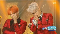 Zutter (0809 SBS Inkigayo) - GD&TOP