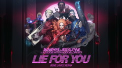 Lie for You (René LaVice Remix) [Visualiser] - Snakehips, Jess Glynne, A Boogie Wit Da Hoodie, Davido