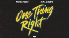 One Thing Right (Audio)