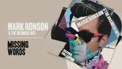 Missing Words (Official Audio) - Mark Ronson, The Business Intl.