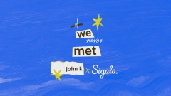 if we never met (remix (Audio)) - John K, Sigala